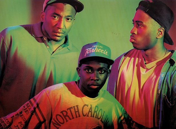 A Tribe Called Quest: Q-Tip, Phife Dawg, Ali Shaheed Muhammad