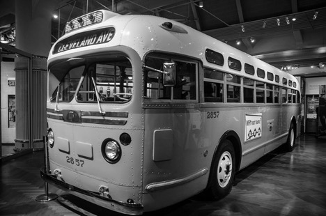 Montgomery Bus ridden by Rosa Parks.