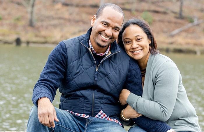 Ian and Rashida Moore