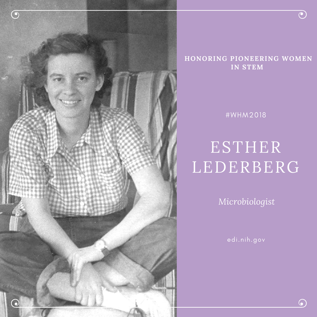 Esther Lederberg