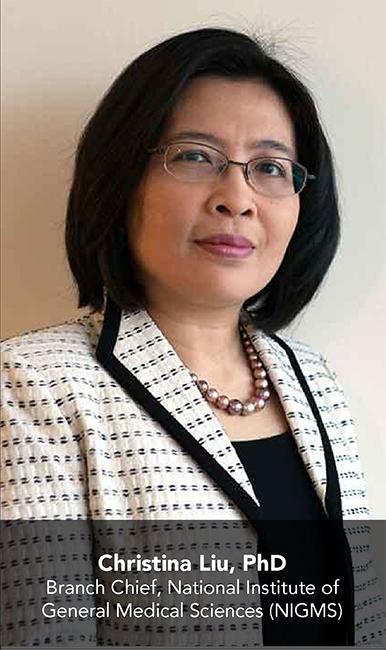 Christina Liu, PhD; Branch Chief, NIGMS