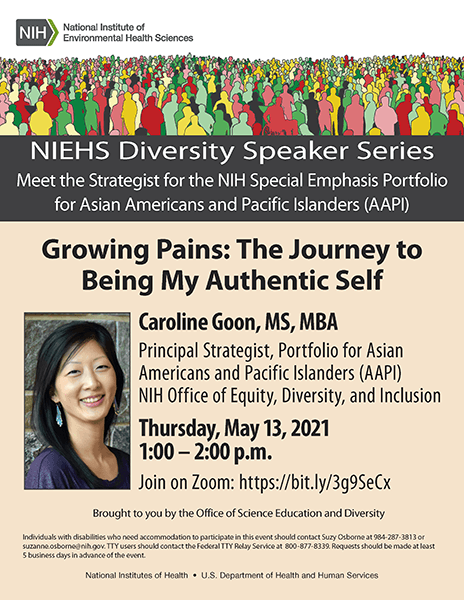 NIEHS Diversity Speaker Series Flyer