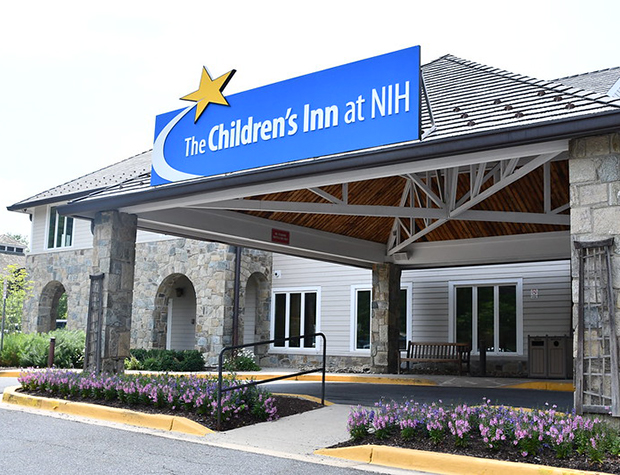 The Childrens Inn at NIH Front Entrance