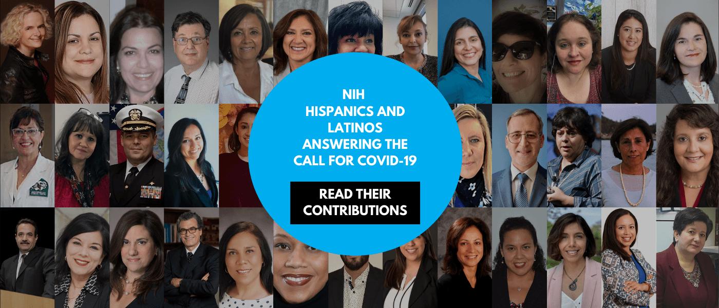 Collage of NIH Hispanics and Latinos