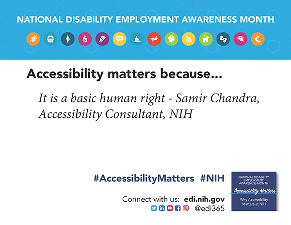 Accessibility Matters