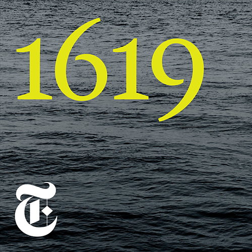Yellow number 1619 over an image of water