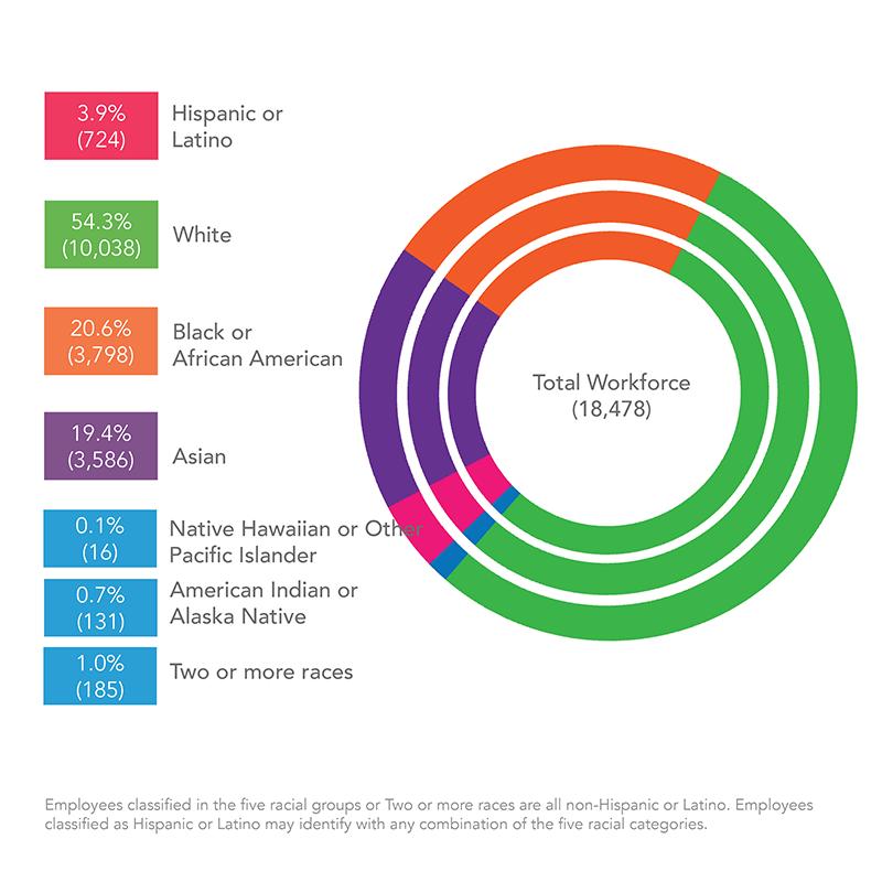 NIH Workforce Demographics Button