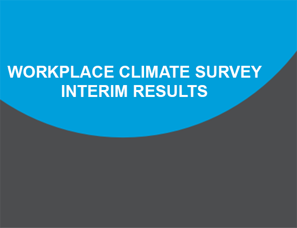 NIH Workplace Climate Survey Interim Results