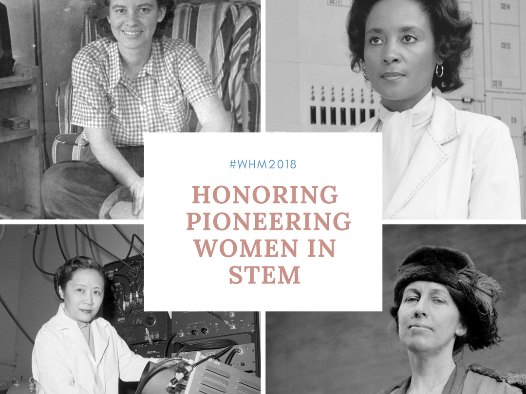 Celebrate Women's History Month 2018