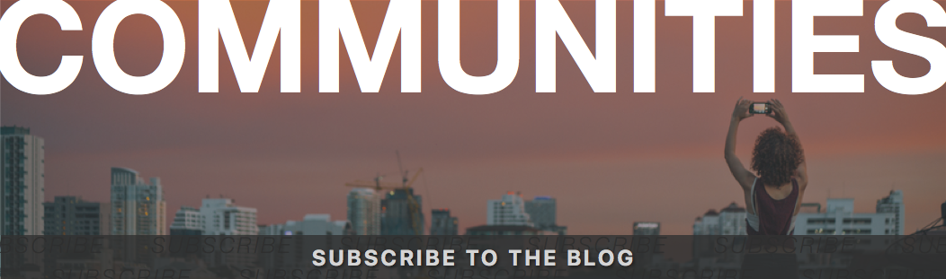 Subscribe to the EDI Blog - Communities
