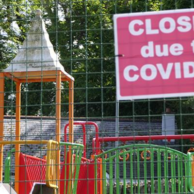 Closed playground due to COVID-19