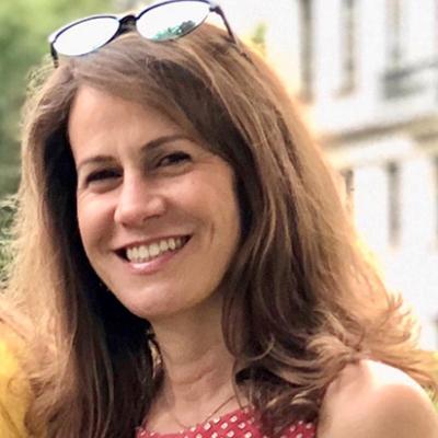 Closeup headshot of smiling Kathryn Brown