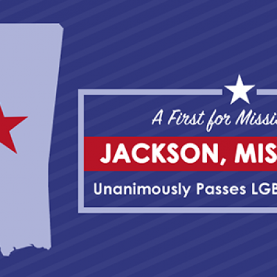 Jackson, Mississippi unanimously passes LGBTI protections, a first for Mississippi.