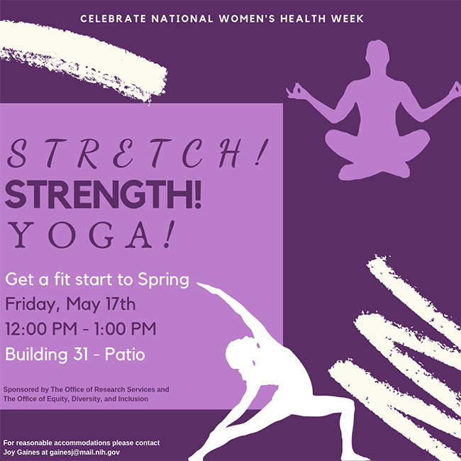 Stretch! Strength! Yoga! Get a fit start to spring.